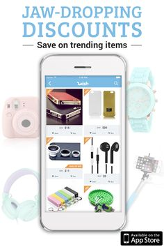 Why pay full price when you could save 50-80%? Find tech accessories and gadgets at incredible prices on Wish, where shopping is made fun! Download the free app today to start getting the hottest products delivered directly to your door!