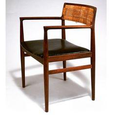 Arne Vodder   1950s.  #danishmodern  #chair #furniture #luxury #design…
