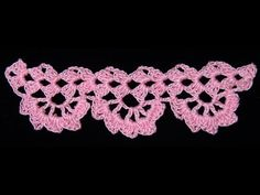 ▶ Crochet : Borde # 9 - YouTube