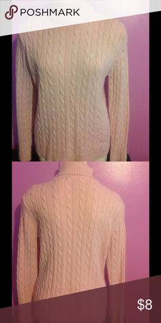 Chaps Turtleneck Sweater Pink Sweater Chaps Sweaters Cowl & Turtlenecks