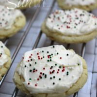 Amazing Soft Sugar Cookie http://www.adashofsanity.com/2013/11/amazing-soft-sugar-cookie/