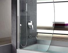 Kývna, resp. obojstranne otváravá lišta ZL2500 ideálna pre sprchy alebo sprchové zásteny. Zdvíhacia funkcia pri otváraní. Tesniaci profil prerušený v oblasti pántu.