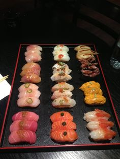 Your best omakase option in the upper west side. Make sure you call ahead to get a seat at the counter. Table service is pretty boring. Sushi Yasaka in New York, NY