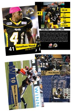 4 of 5 Sidebar Football Trading Cards, Baseball Cards, Player Card, Football Players, Back To School, Yearbook Ideas, Newspaper, Goodies, Easy