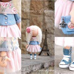 #cozyhomehandmadewithlove #handmade #dolls #doll #авторскиекуклы #авторскиеигрушки #интерьерныеигрушки #париж#