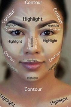 nice highlighting contouring tutorial