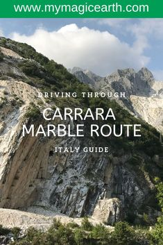 """The Marble Route near Carrara (northern Tuscany) is one of the best things to do in Italy. The marble quarries were made famous by the film Quantum of Solace"""" starring Daniel Craig and directed by Marc Forster. Italy Travel Tips, Europe Travel Guide, Travel Guides, Hiking Europe, Travel Advice, Europe Destinations, Lucca, Malta, Things To Do In Italy"""