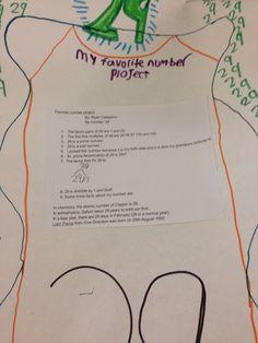 6th grade Math project