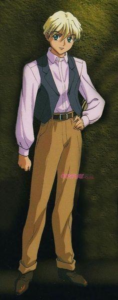 Gundam - Mobile Suit Gundam Wing -- Quatre Raberba Winner Cosplay Costume Version 01