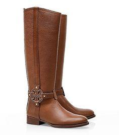 Fall #Fashion Inspiration ~ Tory Burch 'Amanda' Riding Boot