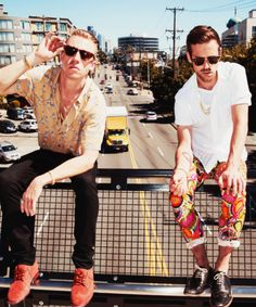 Macklemore & Ryan Lewis for RollingStone Magazine.