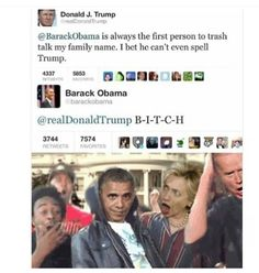 Donald J. Trump Is A. ~ Memes curates only the best funny online content. The Ultimate cure to boredom with a daily fix of haha, hehe and jaja's. Really Funny, Funny Cute, The Funny, Funny Tweets, Funny Memes, Jokes, Funny Gifs, Videos Funny, Funny Posts