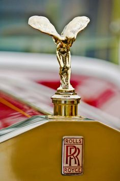 Rolls-Royce Images by Jill Reger - Images of Rolls-Royces - 1928 Rolls-royce Phantom 1 Hood Ornament Rolls Royce Phantom, Luxury Sports Cars, Sport Cars, Logo Autos, Phantom 1, Car Hood Ornaments, Car Logos, Love Car, Exotic Cars