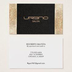 Elegant chic black faux gold sequin beauty business card pinterest elegant chic black faux gold sequin beauty business card colourmoves