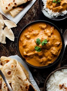 Chicken Butter Chicken - a chef recipe which is so simple and uses ingredients from the supermarket. The sauce is incredible!Butter Chicken - a chef recipe which is so simple and uses ingredients from the supermarket. The sauce is incredible! Chef Recipes, Curry Recipes, Dinner Recipes, Cooking Recipes, Healthy Recipes, Rice Recipes, Cooking Food, Delicious Recipes, Cooking Tips