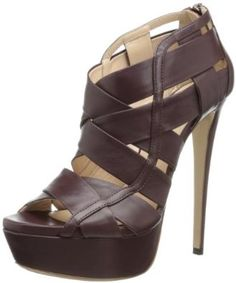 Ruthie Davis Halle platform sandal is more like a little modern skyscraper than a shoe