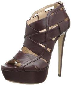 Ruthie Davis Halle platform sandal is more like a little modern skyscraper than a shoe