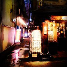 #tokyo #street #night #shinagawa #nightphotography #Japan  久しぶりに #品川 来た。 #路地 好き。品川には、昔の職場があるんだ。 by sayacco385
