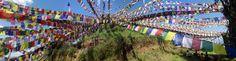 https://flic.kr/p/NMVVtW | Prayer Flags in  Namo Buddha