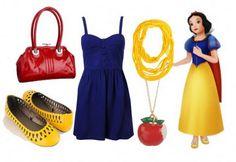 Fashion Inspiration: Walt Disney's Snow White – College Fashion Snow White Outfits, Snow White Dresses, Disney Bound Outfits, Disney Dresses, Disney Clothes, Snow White Poison Apple, Disney Inspired Fashion, Disney Fashion, Snow White Costume