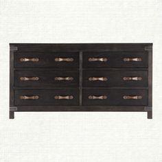 Tremont 6 Drawer Dresser In Brown | Arhaus Furniture