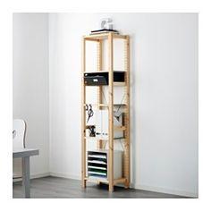 IKEA - IVAR, 1 secció/lleixa/calaix, De fusta massissa sense tractar, un material natural molt durador i resistent que pots cuidar aplicant-hi oli o cera.Pots moure les lleixes per adaptar l'espai a les teves necessitats.Pots personalitzar encara més el moble pintant-lo o tenyint-lo del teu color preferit.