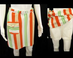 1960's Vintage Mini Skirt with Bloomers, Dave Smith