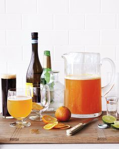 Our Best Beer Cocktails: Liven Up Your Lager (and Ale and Stout) | Martha Stewart