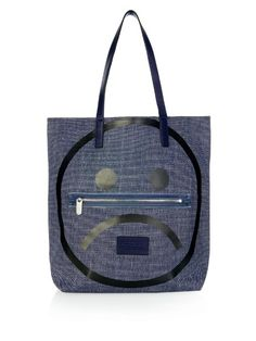 MARC BY MARC JACOBS Unsmiley Denim Tote