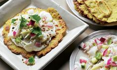 Yotam Ottolenghi's pickled black bream with roti recipe, plus Swiss chard fritters Ottolenghi Recipes, Yotam Ottolenghi, Great Recipes, Favorite Recipes, Yummy Recipes, Swiss Chard Recipes, Roti Recipe, Good Food, Yummy Food