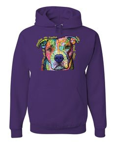 effb09d3fd3b0 Dean Russo Dogs Have a Way Hoodie Pet Animal Lover Cute Pitbull Sweatshirt