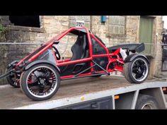 Very nice buggy Build A Go Kart, Diy Go Kart, Go Kart Buggy, Off Road Buggy, Mini Jeep, Mini Bike, Mini Buggy, Motorized Trike, Go Kart Kits
