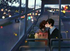 - - Casal no parque Paris Eiffel Art Print Paris Skyline Paris Art Paris Cute Couple Drawings, Cute Couple Cartoon, Cute Couple Art, Cute Love Cartoons, Anime Love Couple, Anime Couples Drawings, Love Drawings, Cute Anime Couples, Animated Love Images