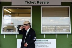 The Ticket Resale booth at Wimbledon - Day 8