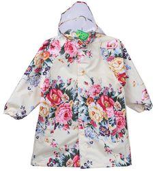 Free shipping South Korea lovely big flower child adult fashion girls raincoat raincoat children raincoat poncho raincoat baby