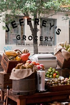 (via Gabe Stulman's Joseph Leonard and Jeffrey's restaurant/grocery store » NYC Wedding Photographer Blog)