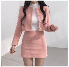 Kpop Fashion Outfits, Girls Fashion Clothes, Mode Outfits, Girly Outfits, Cute Casual Outfits, Pretty Outfits, Stylish Outfits, Vintage Outfits, Fashion Skirts