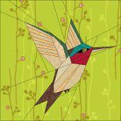 Humming Bird - via @Craftsy - AND free!  Stunning!!