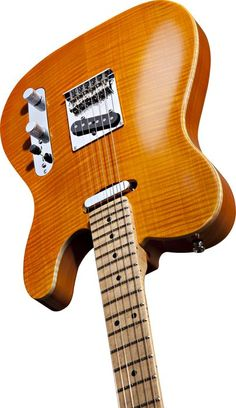 Fender Select Telecaster. Love the high-quality wood binding.