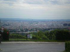 Blick auf Wien vom Cobenzl