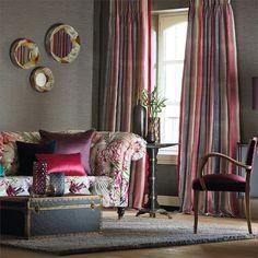 Products   Harlequin - Designer Fabrics and Wallpapers   Tambo (HAMA131524)   Amazilia Fabrics