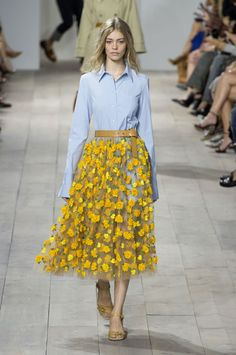 Michael Kors Spring 2015 Collection. Photo: Imaxtree