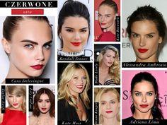 Czerwone usta gwiazd. czerwona szminka red lipstick red lips Shopping