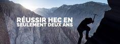 Prépa HEC – Réussir HEC en seulement deux ans de prépa, à Ipécom Paris c'est possible.