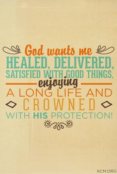 Yes, He does! #GodIsGood