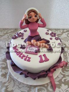 Doces Opções: A Violetta no aniversário da Beatriz