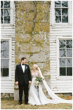 Happy bride and groom at The Hardy Chambers Farmhouse at Fly Creek Farm in Pulaski, TN. Image by White Rabbit Studios.