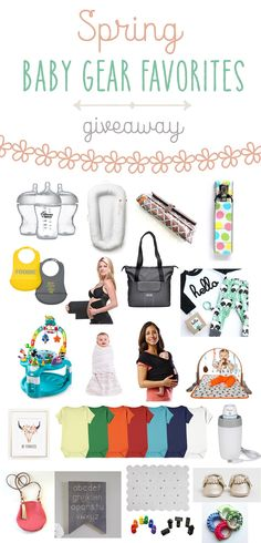 Baby Gear Favorites Giveaway