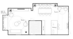 Portfolio 1 - HOME interior & home decoration - Lilly is Love Home Interior, Mood Boards, Decoration, Floor Plans, House, Claire, Home Decor, Dining Room, Denim