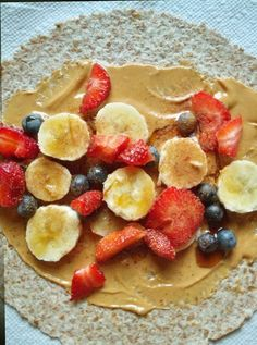 30 Breakfast Ideas To Keep You Energized All Morning - Breakfast wraps are quick and easy, making them perfect for days when you're running behind. Slather peanut butter on a whole wheat tortilla or flax wrap and then pile on the fruit — strawberries, raspberries, bananas, apples, and blueberries are all great choices. You could also sub the peanut butter for greek yogurt for variety and extra protein.